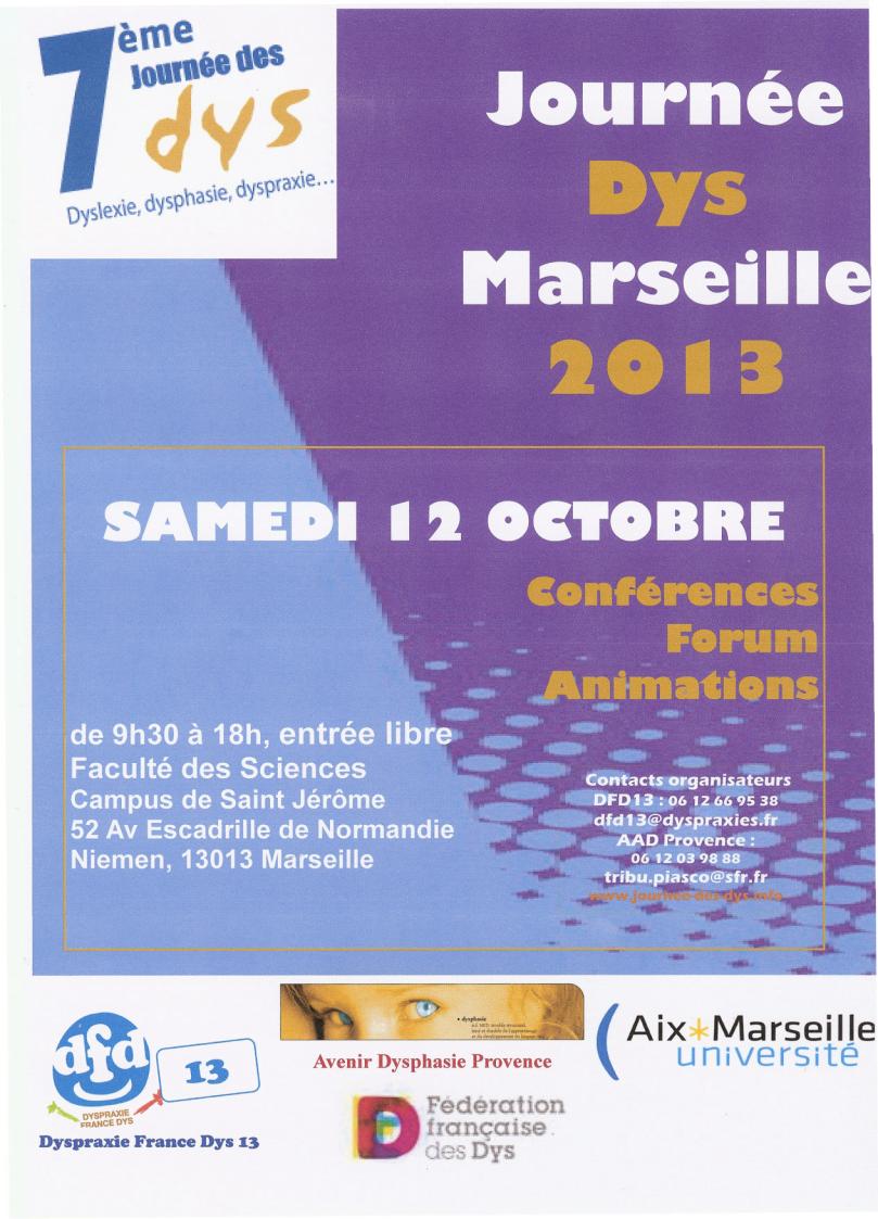 Journée Des Dys 2013