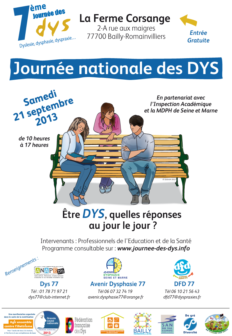 7e journée national des Dys ( dyspraxie ... ) 2013