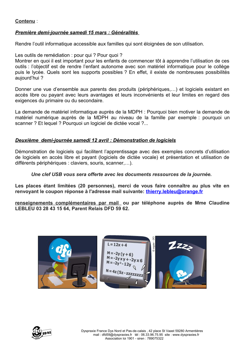 Formation informatique 2
