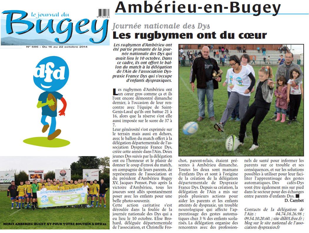 Article Ambrieu Bugey XV
