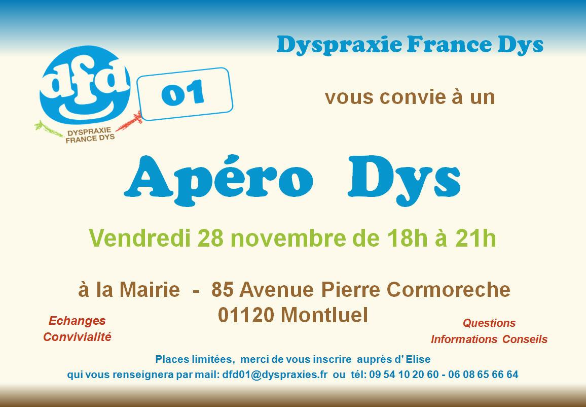 Apéro Dys 28/11/2014