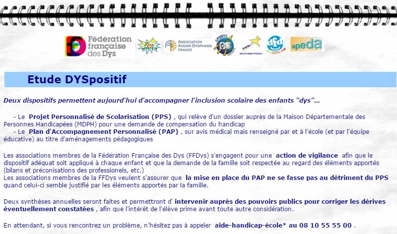 Veille internet sur les demandes de PPS auprès des MDPH