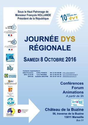 Read more about the article Journée DYS 2016 en PACA : comptes-rendus