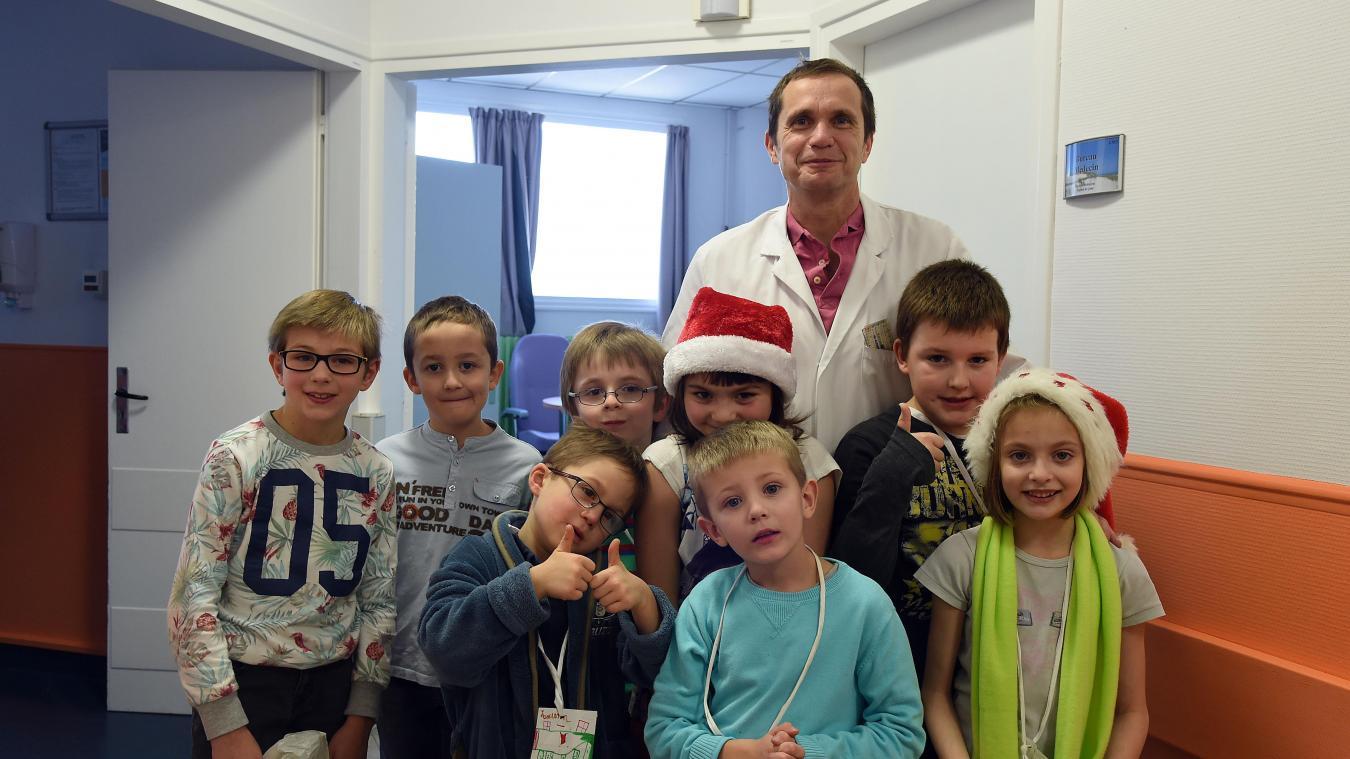 Un 20/20 pour l'unité de Calot qui aide les enfants en grande difficulté – La Voix du Nord