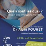 Conférence Dr Alain POUHET dans l'Ain