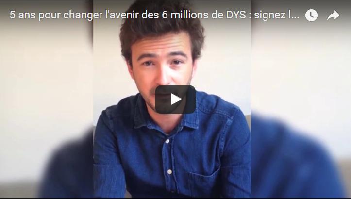 Signez la lettre ouverte pour changer l'avenir des 6 millions de DYS en France