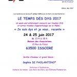 DFD63 : Temps des DYS 2017