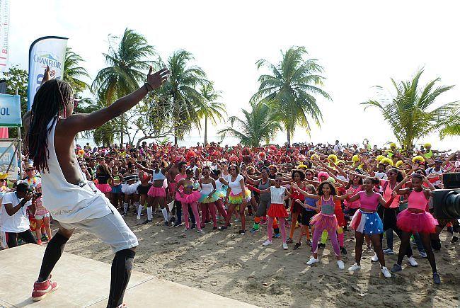 Carnival run, défoulement pour la cause « dys » – FranceAntilles.fr