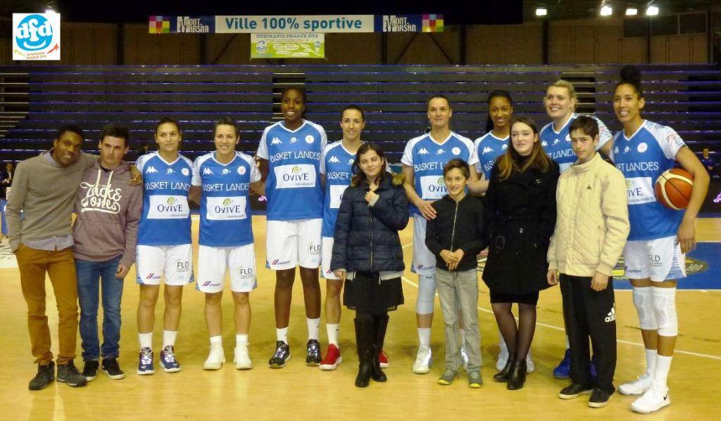 DFD40 et le Basket-Landes