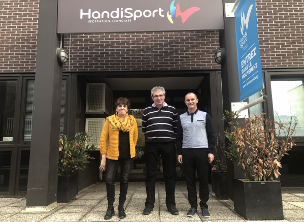 DFD et la Fédération Française Handisport signent une convention de partenariat