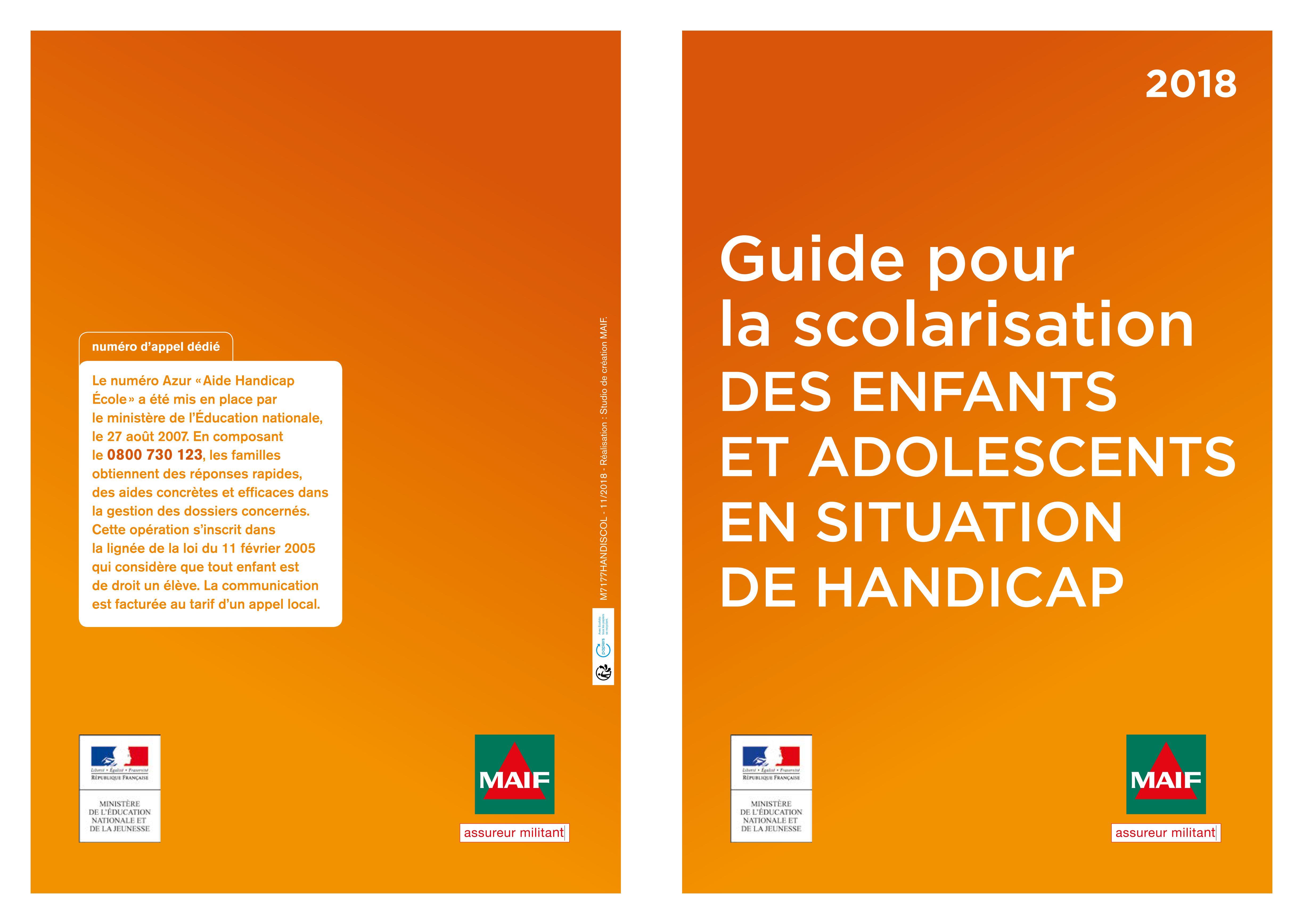 Guide pour scolariser les élèves en situation de handicap