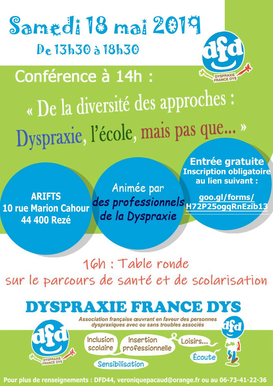 Rencontre nationale sur la dyspraxie à Nantes