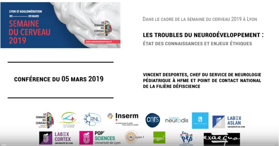 Conférence sur les troubles du neurodéveloppement