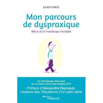 Livre : Mon parcours de dyspraxique