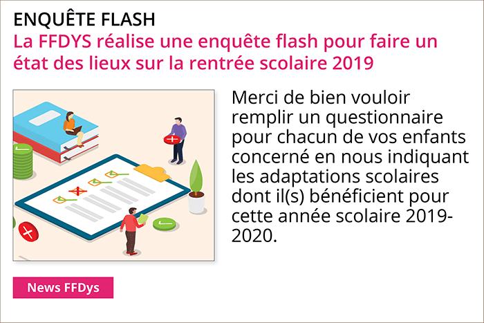 La FFdys lance une enquête flash