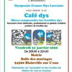 DFD Lorraine : Café dys  Blainville-sur-l'eau