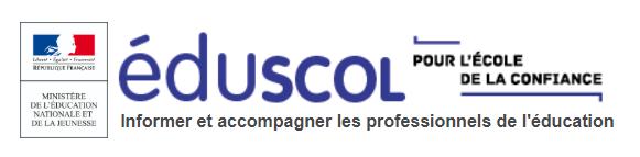 EDUSCOL : ressources pendant le confinement