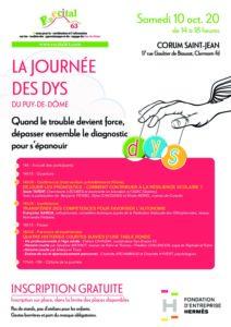 Affiche JND 2020 en Auvergne