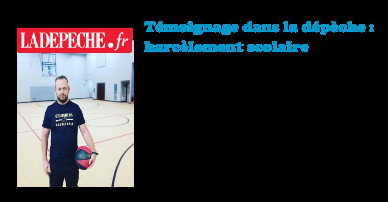 maxime Arque dans la dépêche joue au basket