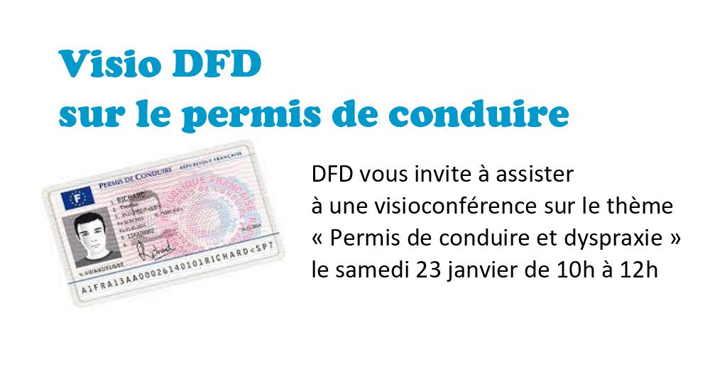 Visio «Permis de conduire et dyspraxie»