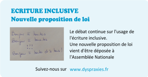Exemple d'écriture inclusive