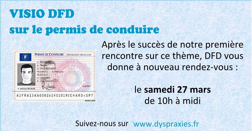 Visio «Permis de conduire et dyspraxie» – 2