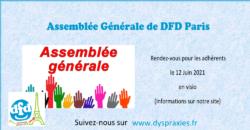 DFD Paris : AG 2021 en zoom