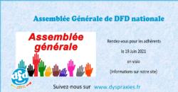 DFD : AG 2021 en zoom