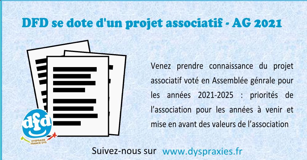 Read more about the article Projet associatif 2021-2025