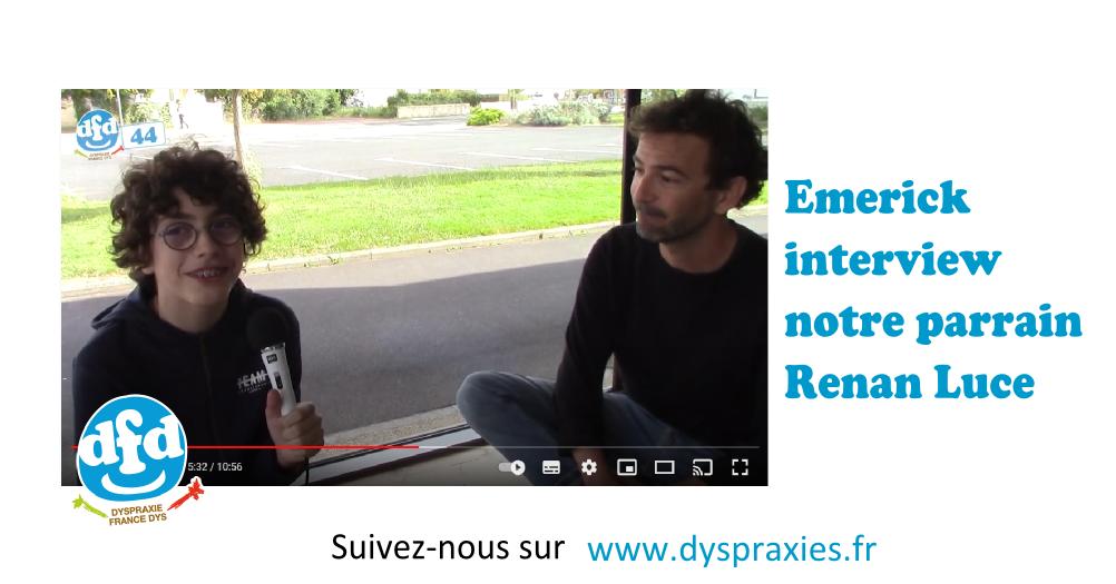 Read more about the article Interview de Renan Luce par Emerick