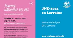 DFD Lorraine  anime un atelier à Baccarat